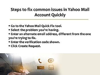 Steps To Fix Common Issues In Yahoo Mail Account