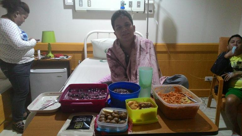 Celebrating New Year at Hospital