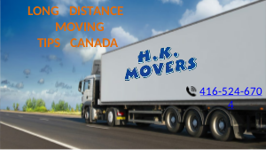 Long Distance Moving Tips Canada